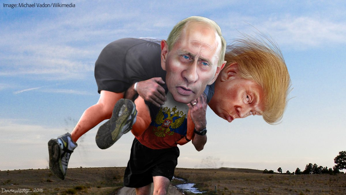 Trump is not Putin's puppet